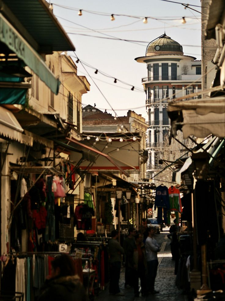 Kapani or Vlali Market is the oldest outdoor market of Thessaloniki and there you can find almost everything in the food department plus a lot more. (Walking Thessaloniki - Route 02, Old City Hall)