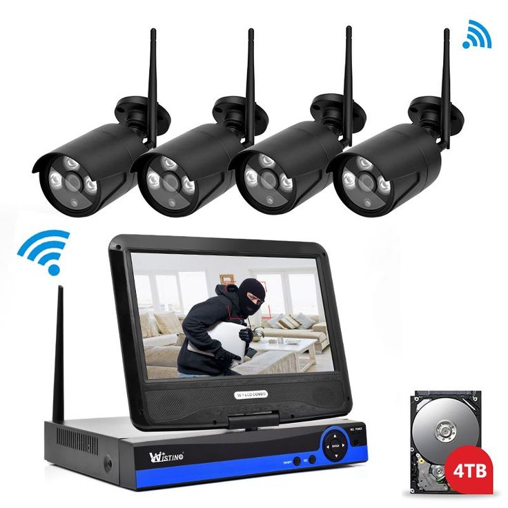 Find More Surveillance System Information about Wistino Security IP Camera Outdoor 4CH CCTV System 720P Wireless NVR P2P Wifi Kit 1MP Video Monitor Kits LCD Screen Surveillance,High Quality Surveillance System from WISTINO Franchise Store on Aliexpress.com