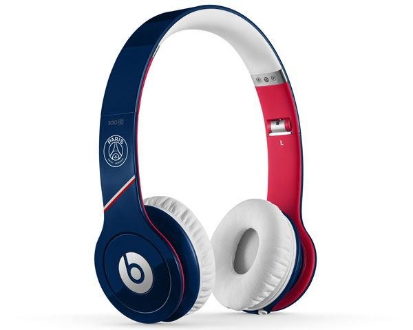 On-ear headphones Beats Solo HD PSG - Blue / White / Red-€ 109.98 http://www.casque-pascher.fr/casque-dr-dre-solo.html