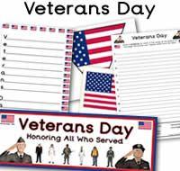 veterans day heart flag