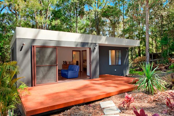 Granny flats sydney central coast built by greenwood for House with granny flat design