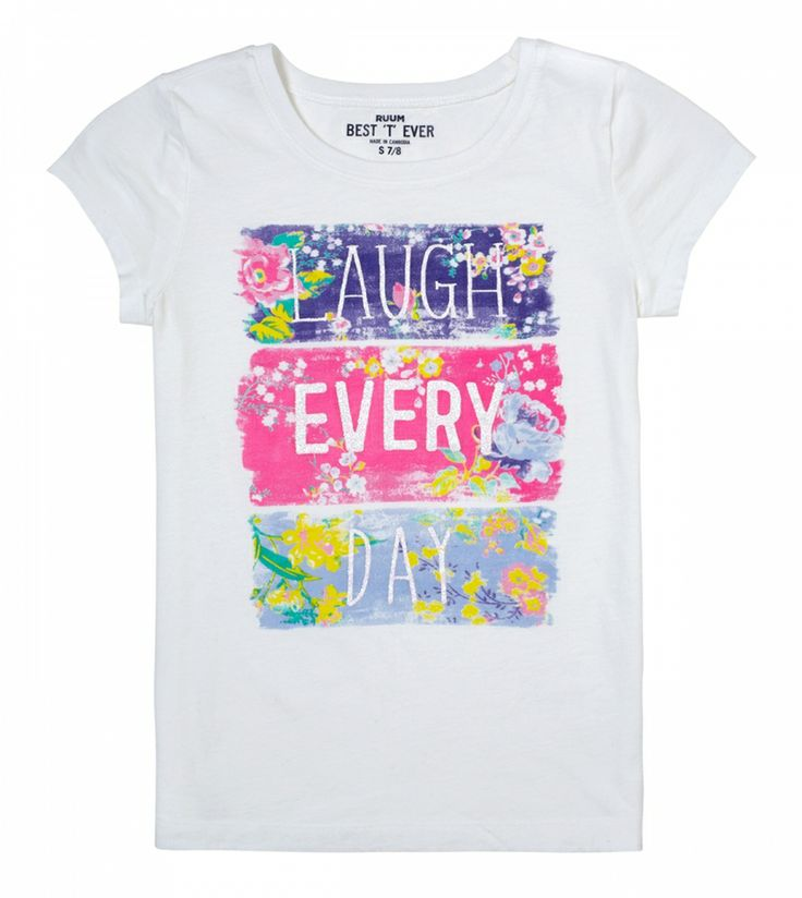 Laugh Every Day Tee