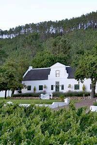 Rickety Bridge Country House in Franschhoek