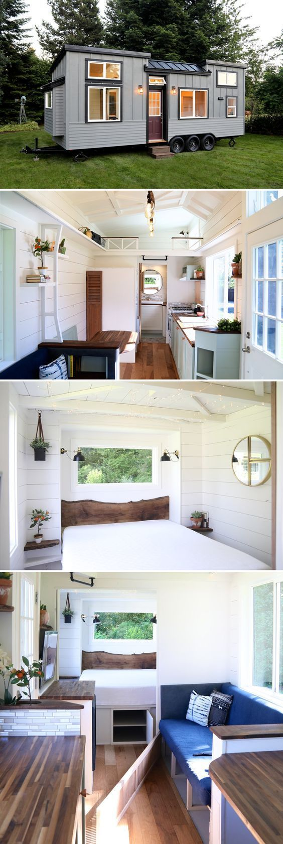 Pacific Pioneer by Handcrafted Movement Tiny House