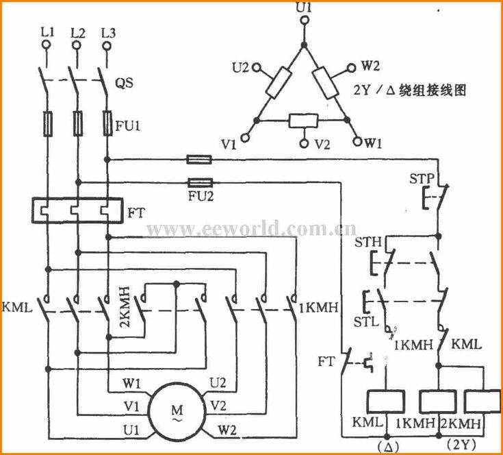 5 2 Speed 3 Phase Motor Wiring Diagram Addict Throughout