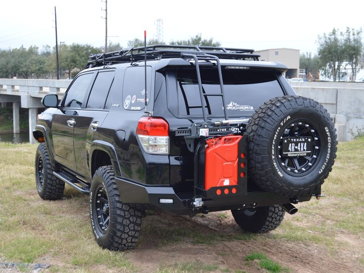 2010-2015 4Runner Rear Bumper