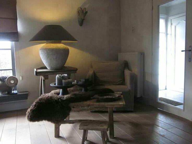 Landelijk mooie kruiklamp van puur wonen sophie decor for Interieur udenhout