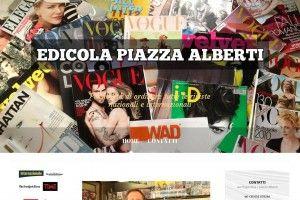 Edicola di Piazza Alberti www.edicolafirenze.it Realizzazione siti web professionali, progetti e-commerce, web marketing e gestione social