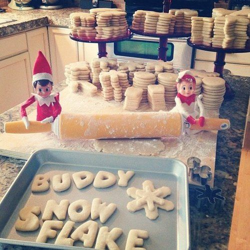 Instagram user jennycookies's elves were busy baking.  Source: Instagram user jennycookies