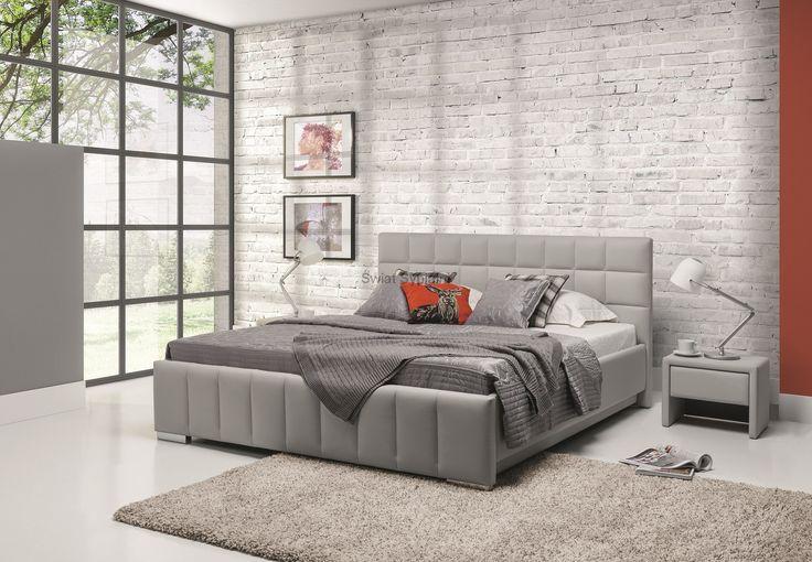 Łóżko KALIPSO H, tapicerowane - Świat Sypialni