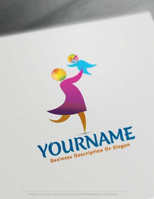 Free Logo Maker Online Parent logo design