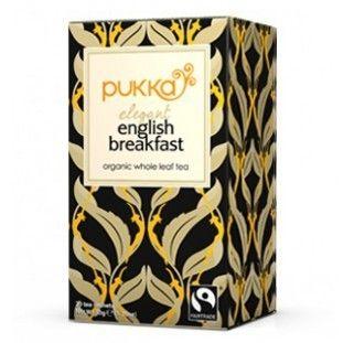 Pukka Herbs Elegant English Breakfast Tea. Organic & Delicious | My Natural Necessities