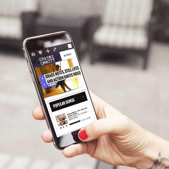 Graeme Emmott's Mobile Homepage