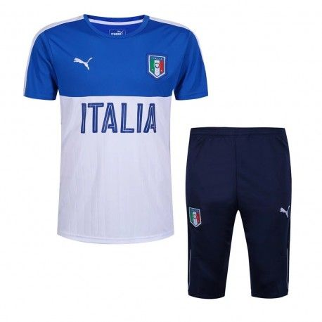 Maillot Training Italie Bleu Blanc