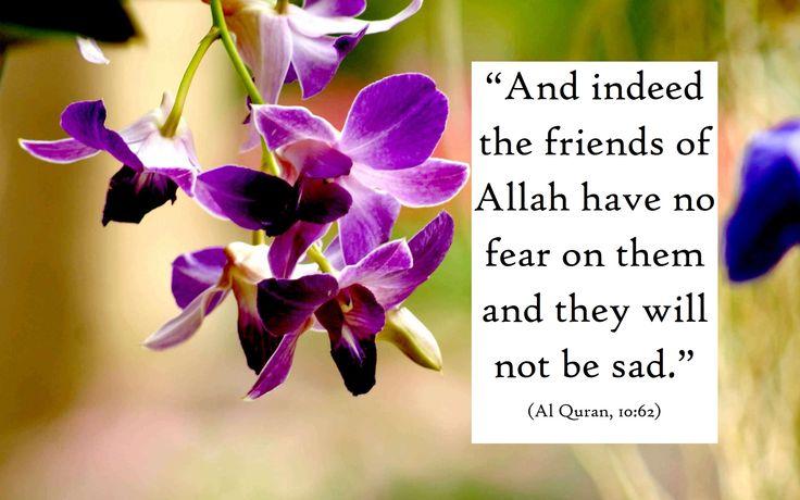 Allah's friends