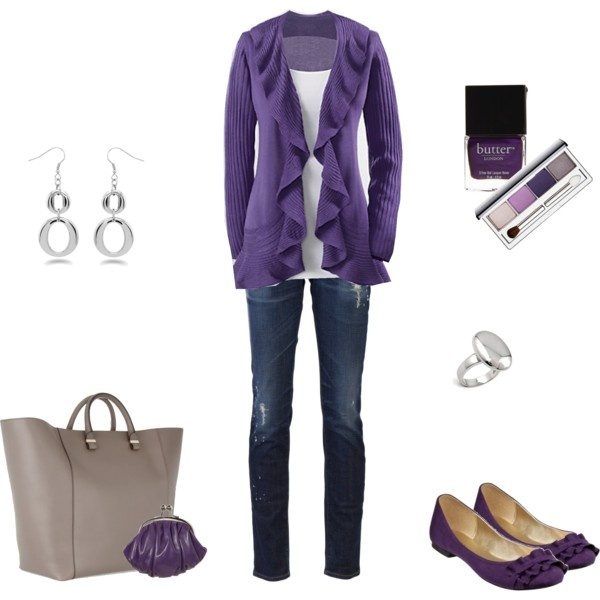 OutfitSweaters, Skinny Jeans, Fashion Style, Clothing, Purple Outfits, Ballet Flats, Cute Outfit, I D Wear, Dreams Closets