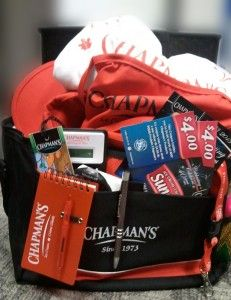 Chapman's Ice Cream Prize Pack! Win a cooler STUFFED with Chapman's swag & ice cream coupons! Giveaway Ends 9/18