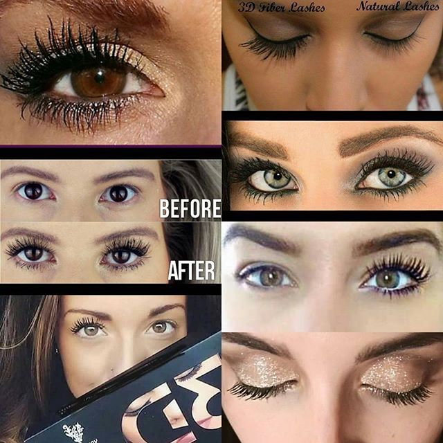 Beautiful Younique 3D Fiber Lashes! There is no doubting why this is our best seller
