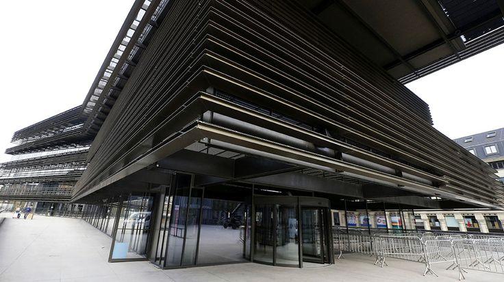 De Krook, bibliotheek en balkon op Gent, opent vanavond de deuren