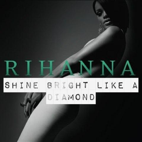 "-- #LyricArt for ""Diamonds"" by Rihanna"