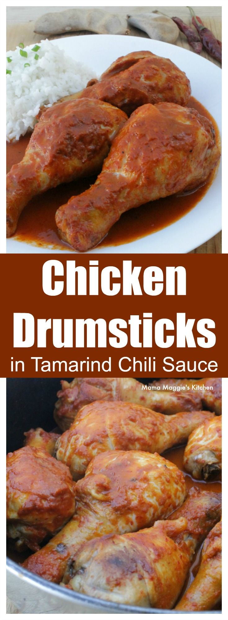 Chicken Drumsticks in Tamarind Chili Sauce is delicious and full of amazing flavors. Spicy and sweet and ready to eat