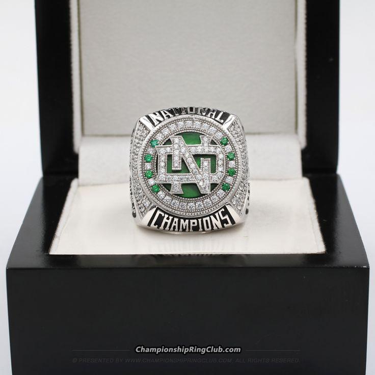 2016 North Dakota Fighting Hawks Men's Ice Hockey National Championship Ring - ChampionshipRingClub.com