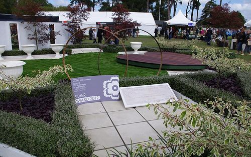 Corokia 39 geenty 39 s ghost 39 instant hedges define the garden for Grow landscapes christchurch