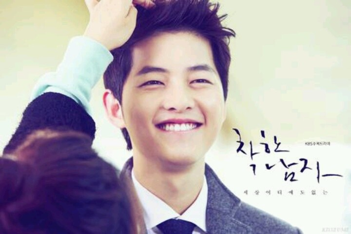 Song Joong Ki - getting styled for Nice Guy