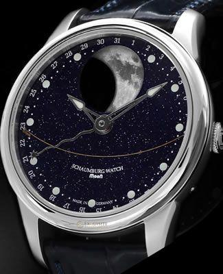 Schaumburg Watch Moon Perpetual Galaxy moon-galaxy