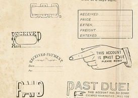 Vintage-office-rubber-stamps-brushes