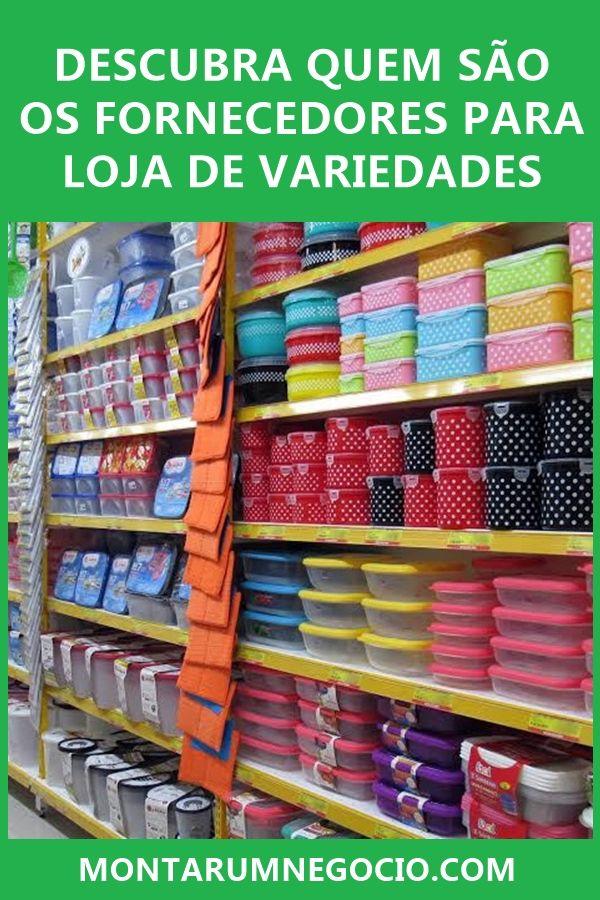 0c82144bf Veja quem são os fornecedores para lojas de variedades e comece a comprar  produtos para revender em seu estabelecimento.