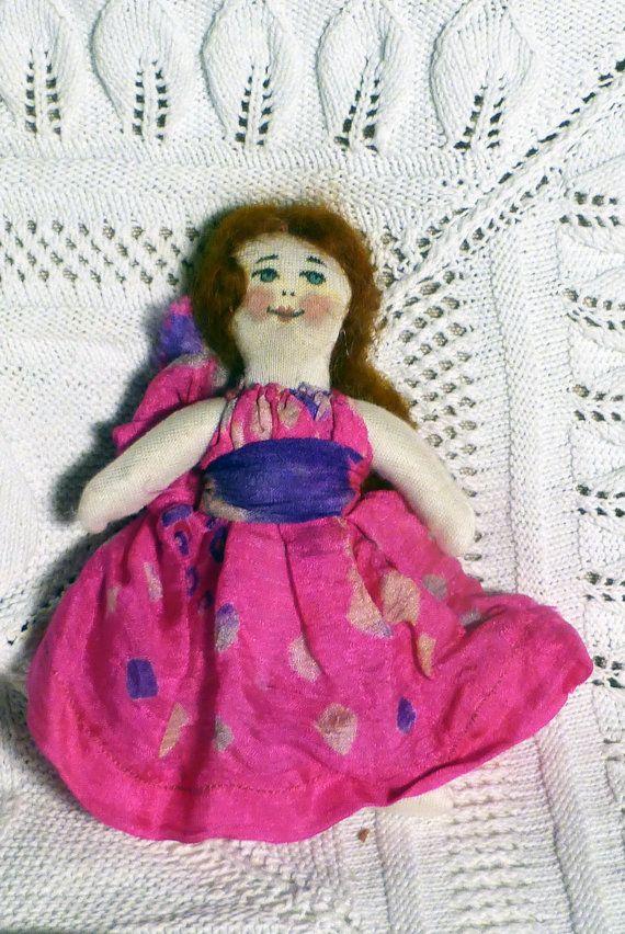 natural miniature doll  1  bambola di factoryoftheartideas su Etsy