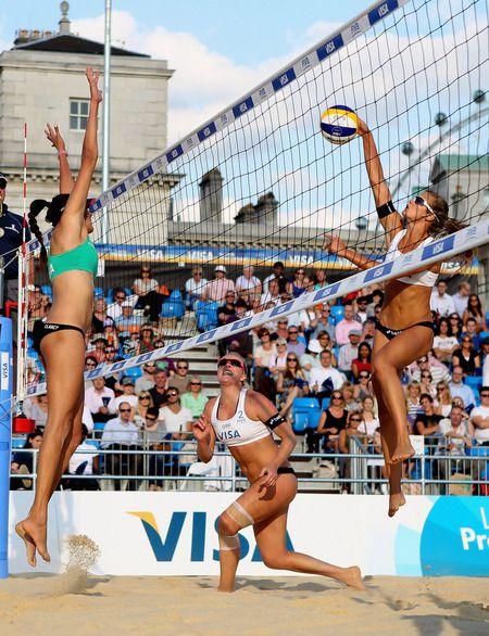 Beach Volleyball FIVB...a team sport!
