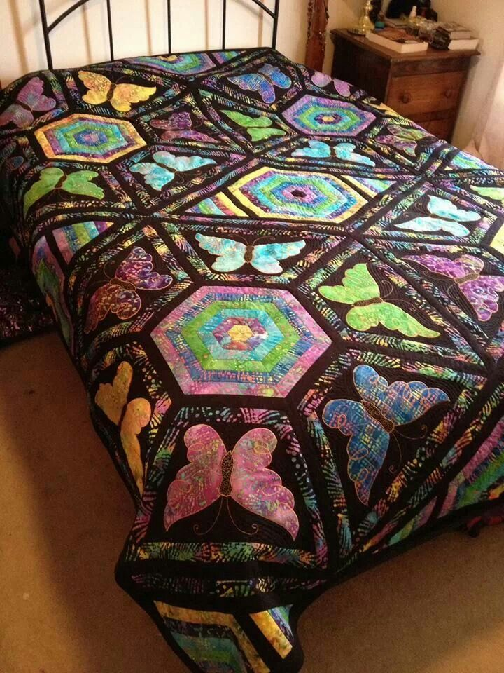164 Best Images About Butterfly Quilts On Pinterest
