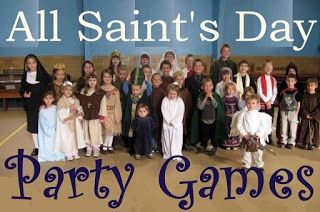 Catholic Inspired ~  All Saints Day DIY Costumes, games, and other ideas {Plus, a Link-up}