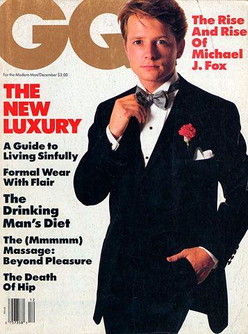Michael J. Fox for GQ, December 1986