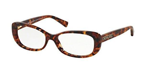 Michael Kors MK4023F Eyeglass Frames 3067-54 - Burgundy / Tortoise ...