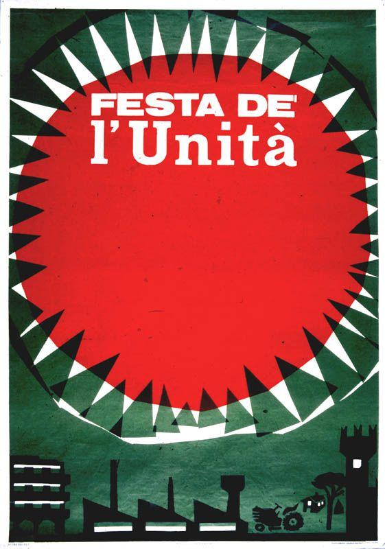 albe steiner - italian festa de l'unità 1969