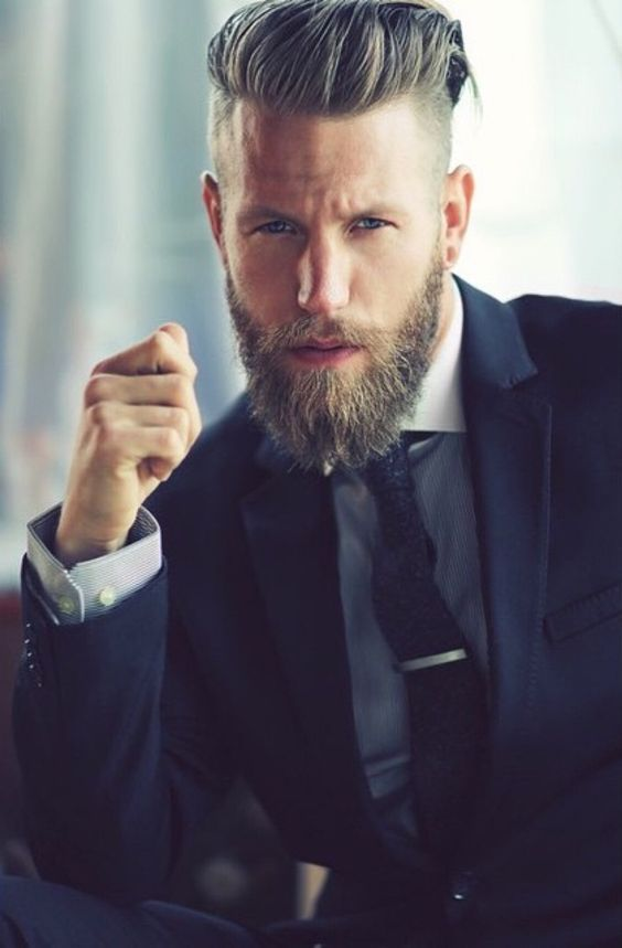 Sharp #beard styles for men