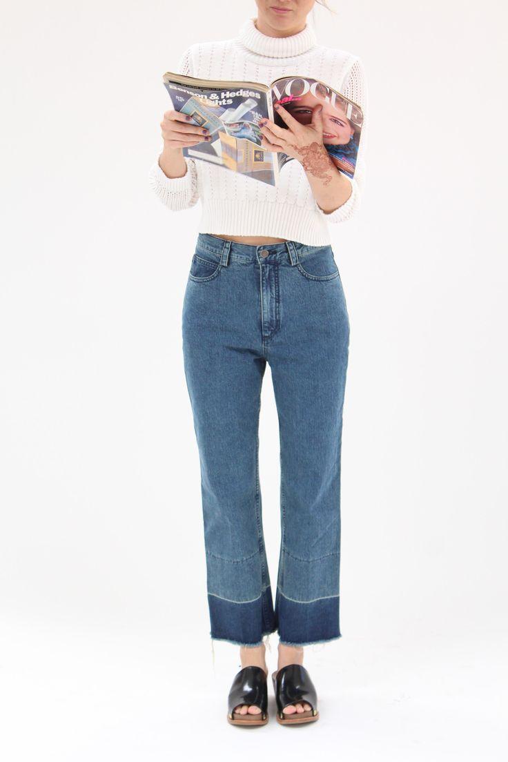 Rachel Comey Slim Legion Pant Indigo - 2   blue. Stylish JeansRed ... e745df095deb