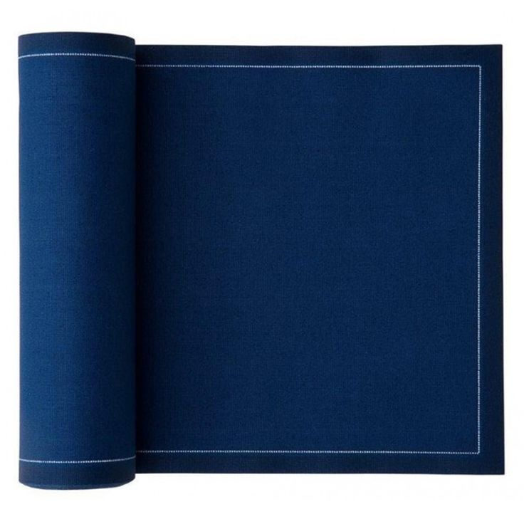 MYdrap Cotton Napkins - Navy Blue