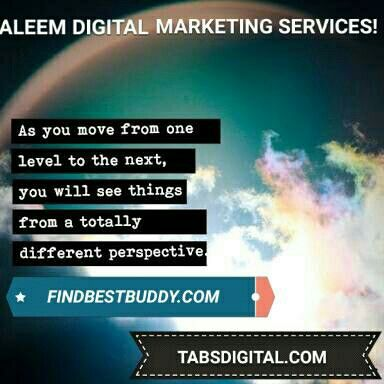 Once you get that addiction of realizing what you can do, you want to take that to the next level.  Happy #Tuesday!   ALEEM DIGITAL MARKETING SERVICES!   http://findbestbuddy.com  http://tabsdigital.com