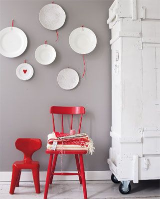 27 best Interieur - ROOD images on Pinterest | Homes, Wall colors ...