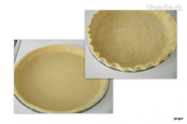 Cesto na quiche, slanú tortu - základ (fotorecept)