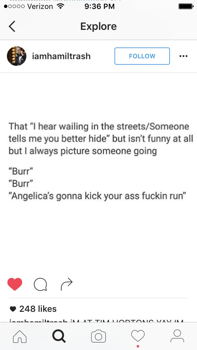 RUN FUCKING RUN, BURR. ANGELICA'S GONNA BEAT YOUR ASS