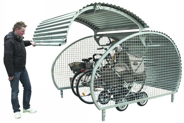 fahrradgarage multi bike box g nstig online kaufen fahrradgarage pinterest fahrr der. Black Bedroom Furniture Sets. Home Design Ideas