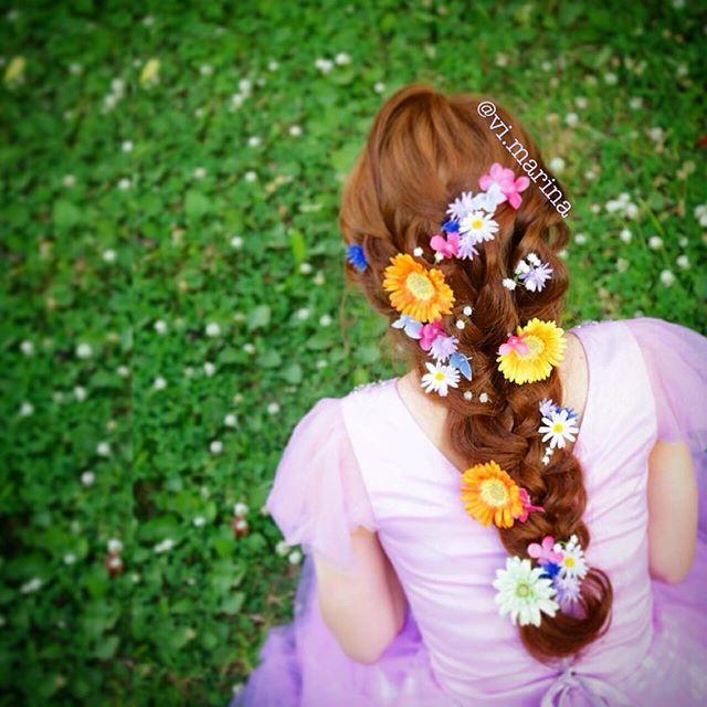 Hair style princessRapunzel たまにはヘアアレンジも 全部モデルさんの地毛 #撮影 #hair #hairsalon #hairstyle #longhair #ヘアメイク #ヘアスタイル #ヘアセット #ヘアアレンジ #salon #セットサロン #ラプンツェル #rapunzel #rapunzelhair #princessrapunzel #princess #編み込み #アップ #flower #flowerstagram #instagood #instagramers #プリンセス #ディズニー #disney #ディズニープリンセス #サロモ #サロンモデル #ラプンツェルヘア