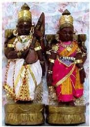 indian Wooden dolls