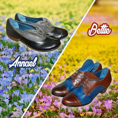 Annael and Bettie are both comfortable and practical shoes for those wanderers who constantly look for the magic and never stops and you can find them on sale on our online shop.