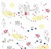 Riley Blake - Enchant Main Fabric available at @SewScrumptious